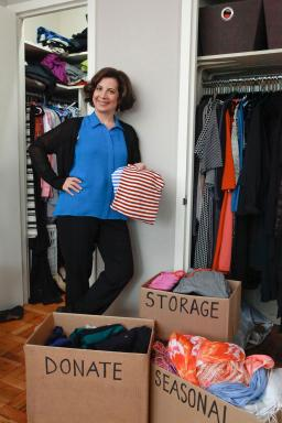 Julie Morgenstern, an internationally renowned professional organizer