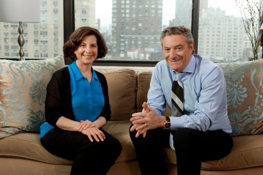 My Healthy™ spokespeople Julie Morgenstern and Dr. Steven Lamm