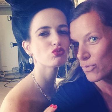 2015 Campari Calendar Eva and Julia Selfie