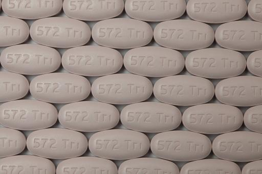 Triumeq® pills - Front