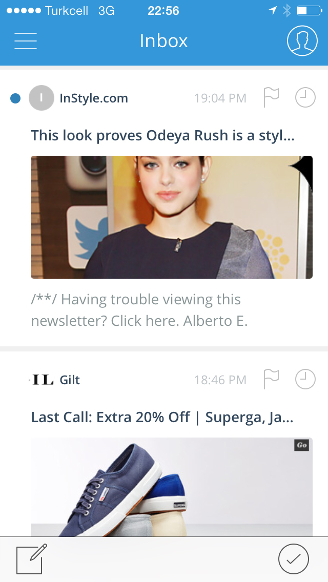 MailMag for iPhone makes viewing your email inbox refreshing and visually appealing.