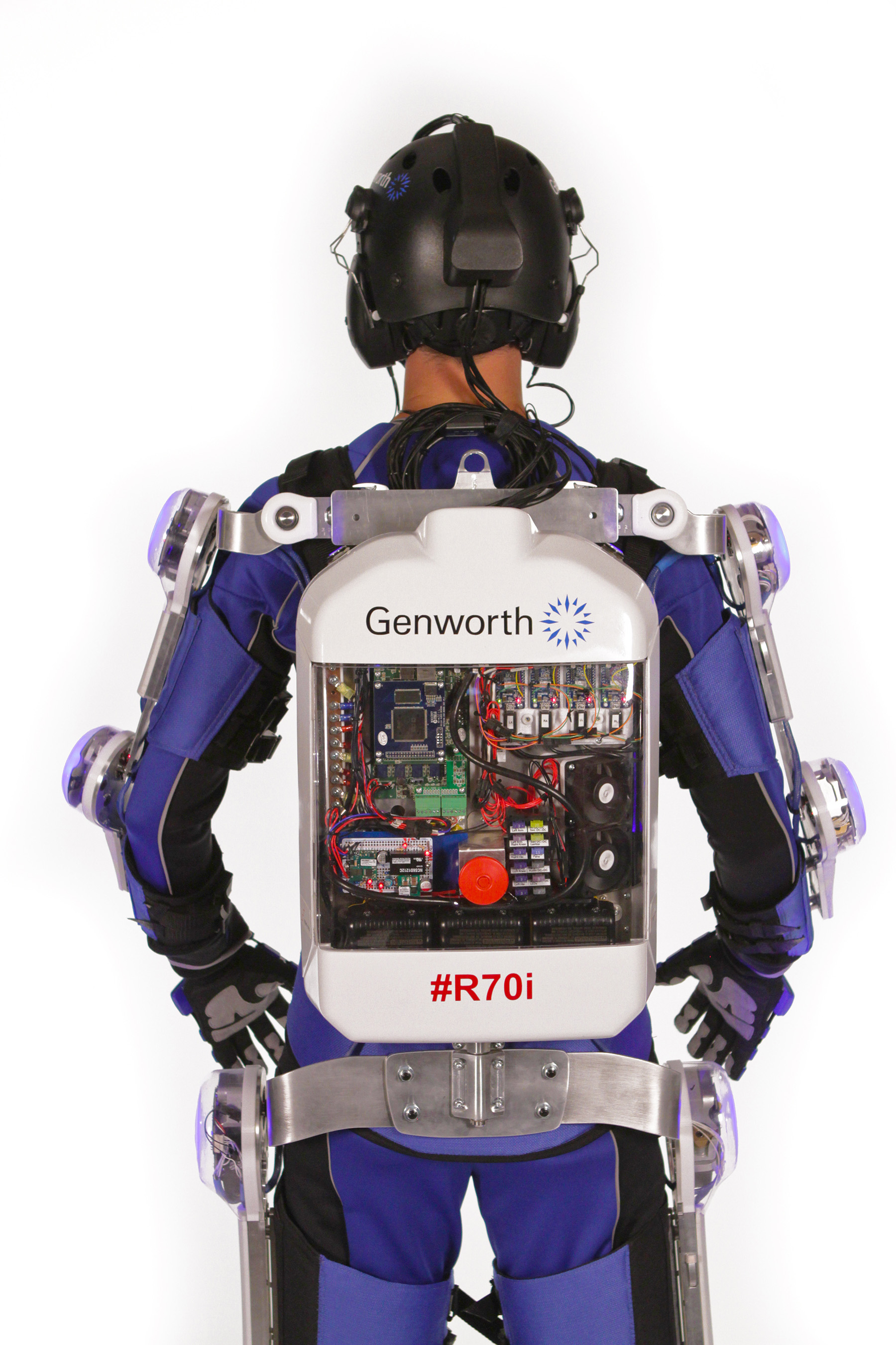 R70i Aging Suit – back view