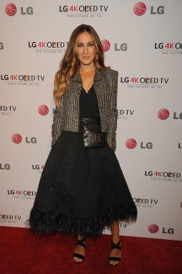 Supporter of the arts Sarah Jessica Parker at LG Electronics' Art of the Pixel Gala at Gotham Hall