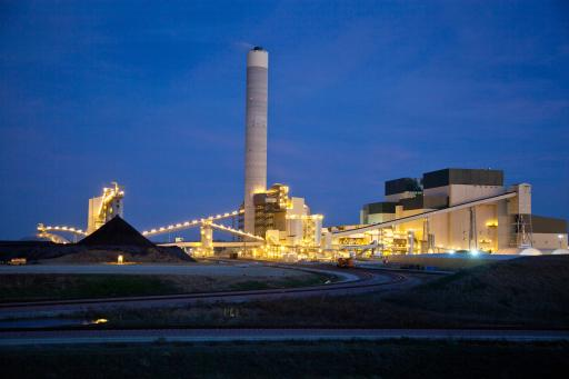 Prairie State Energy Campus, Washington County, IL a technologically advanced coal-fired plant