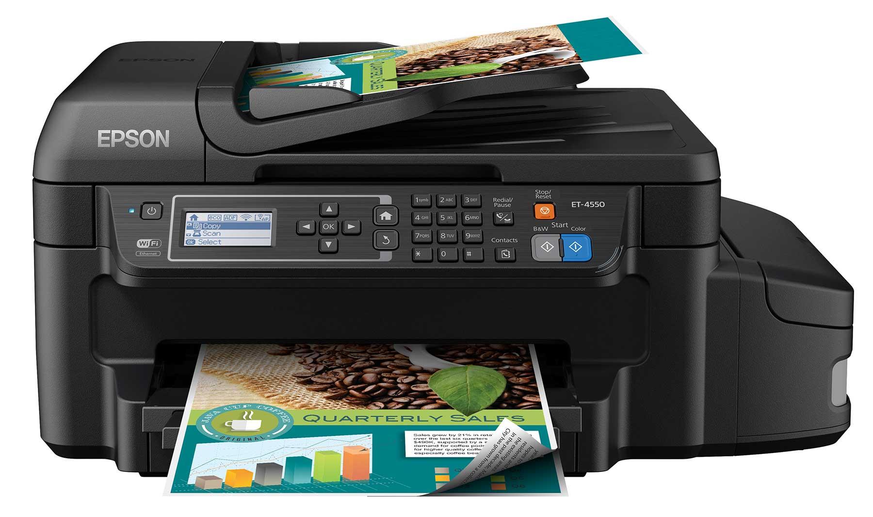 Epson Transforms Printer Category With EcoTank