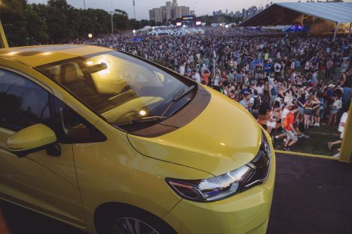 All new 2015 Honda Fit at Governor's Ball