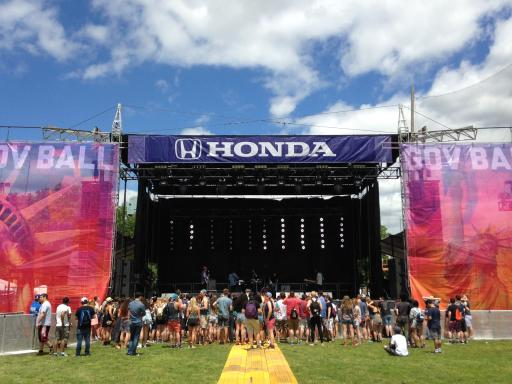 Honda Stage at Governor's Ball 2014
