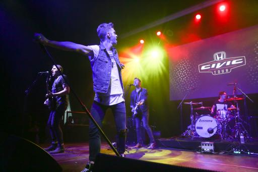 American Authors Perform at the Honda Stage Launch