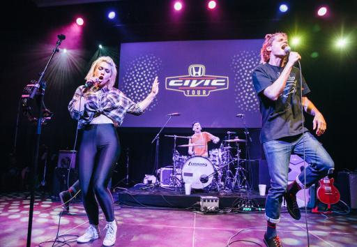 Grouplove, Civic Tour 2014 Headliner, Performs at the Honda Stage Launch