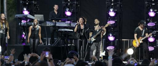 Demi Lovato put on an amazing performance at her World Tour Preview on the Honda Stage