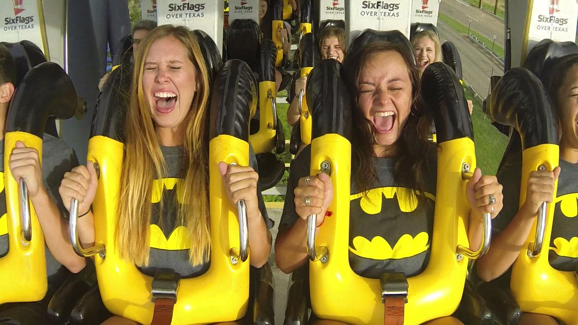 Six Flags Over Texas Opens BATMAN™ The Ride Backwards