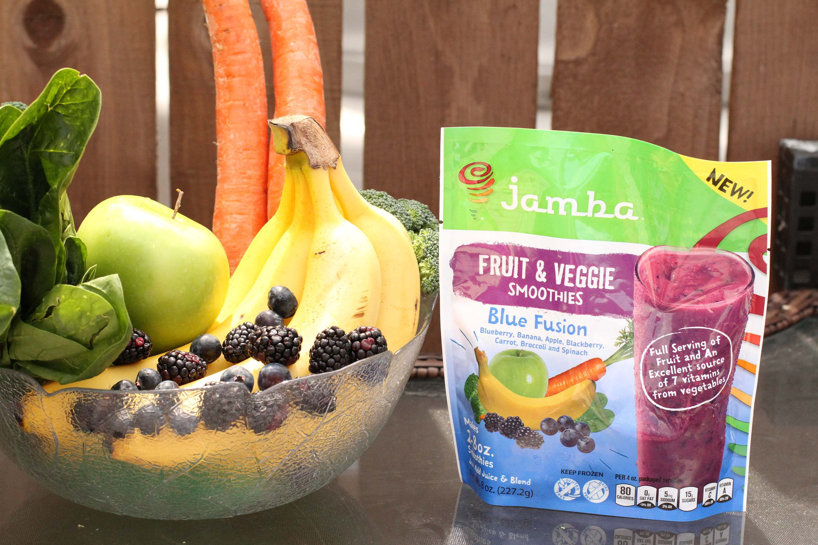 Made with whole frozen fruit and vegetables sections, the new Red Fusion and Blue Fusion from Jamba At Home Fusion offer an unparalleled combination of nutrition and convenience.
