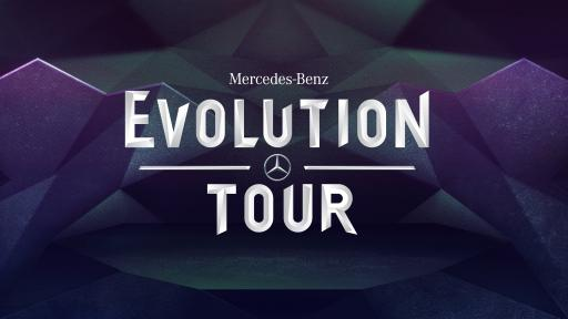 Mercedes-Benz Evolution Tour Logo