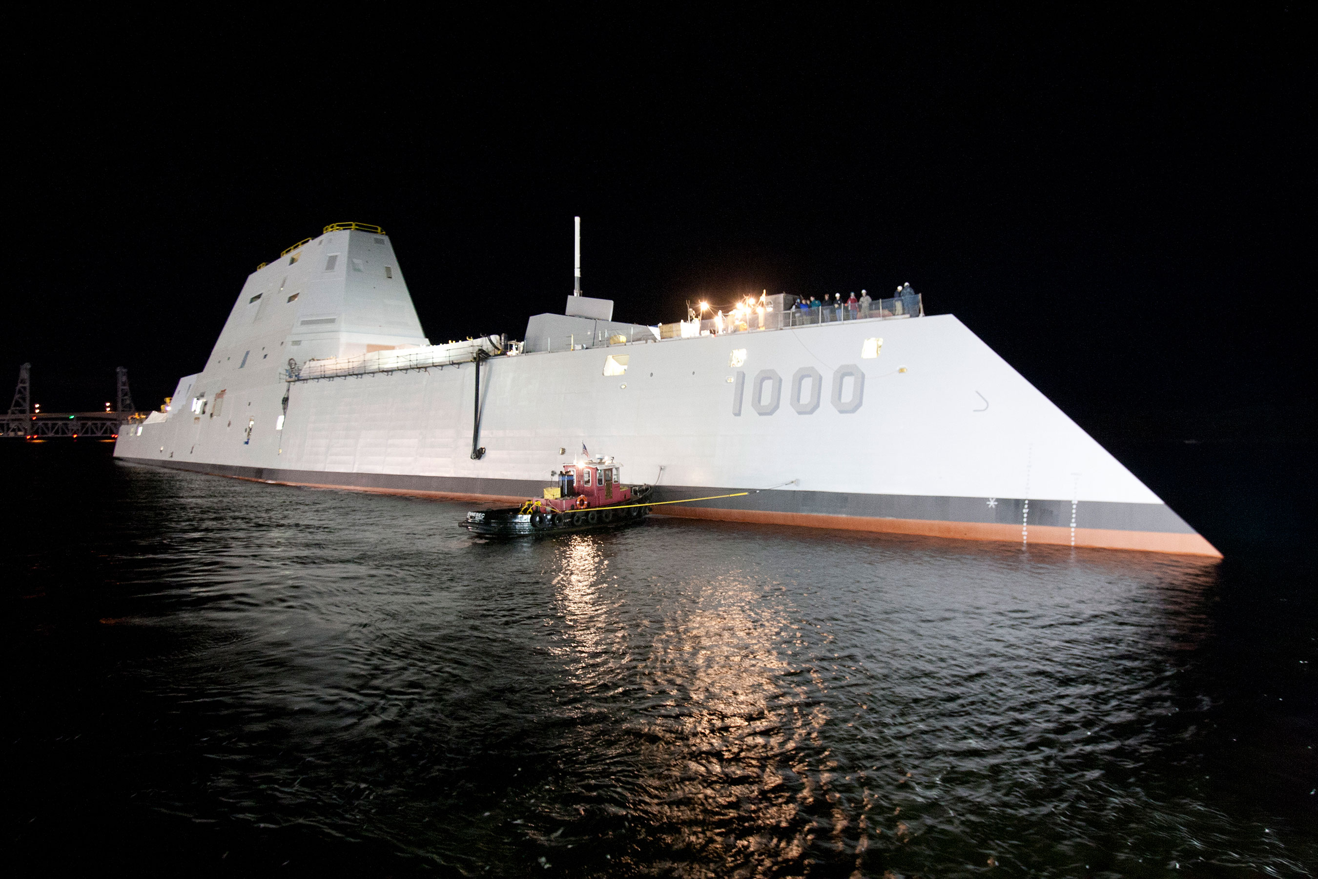 Raytheon is privileged to partner with the Navy and a broad team of experts across industry, working on DDG 1000, the Zumwalt-class destroyer.