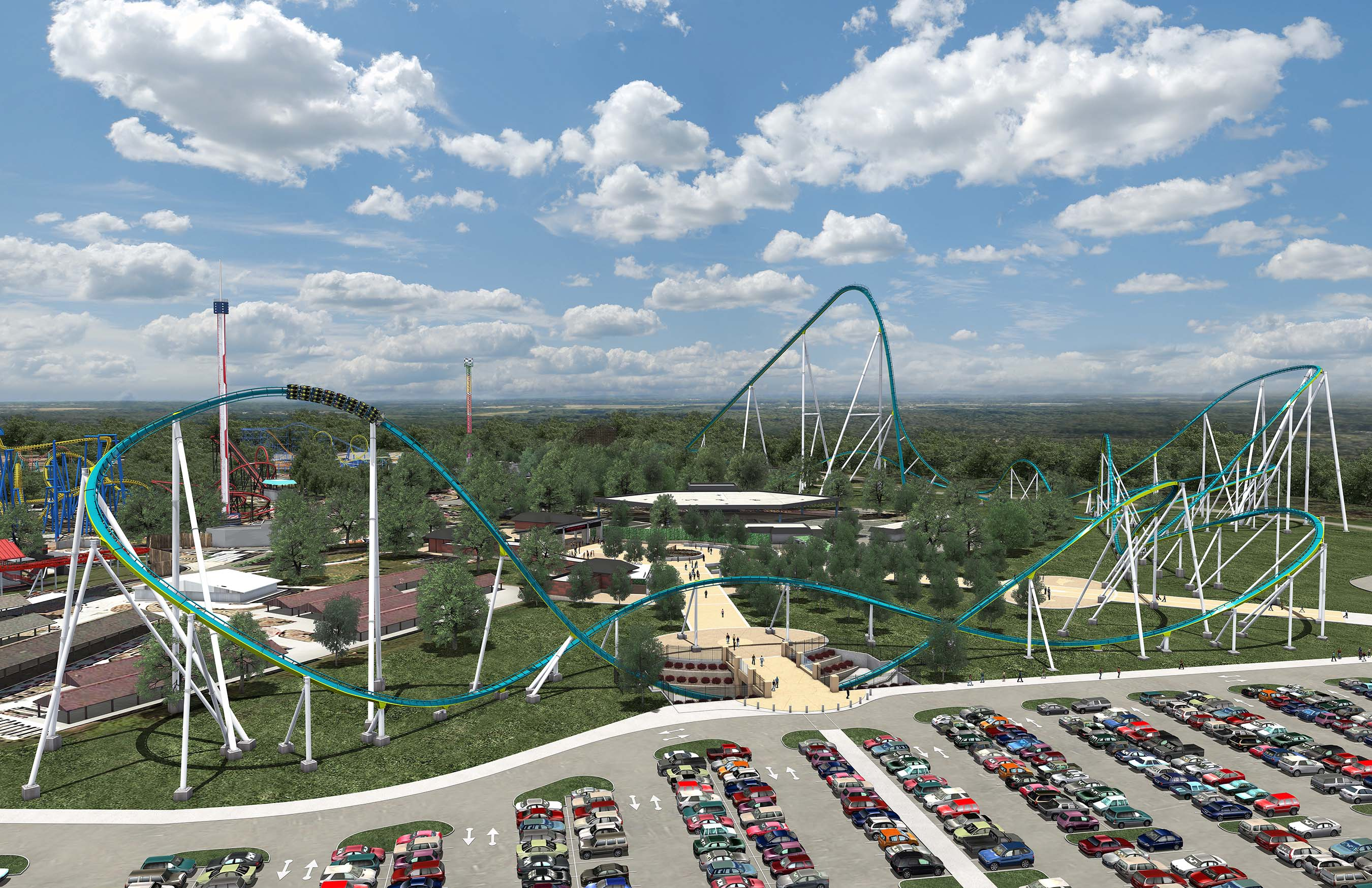 Carowinds to Reach Exciting New Heights