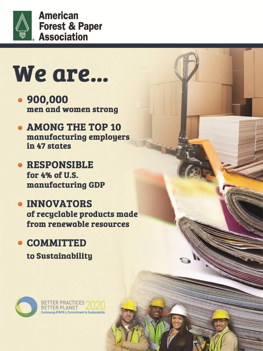 We are AF&PA.