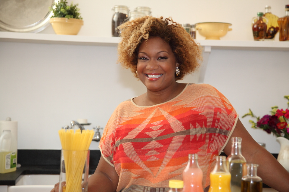 Sunny Anderson, celebrity cook, television host and ulcerative colitis patient