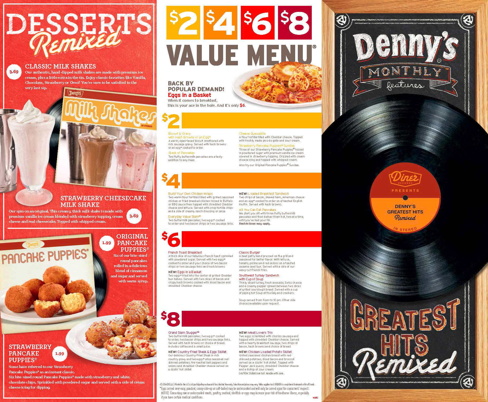 "Denny's Puts a Modern Spin on the Classics with New ""Greatest Hits Remixed"" Menu"