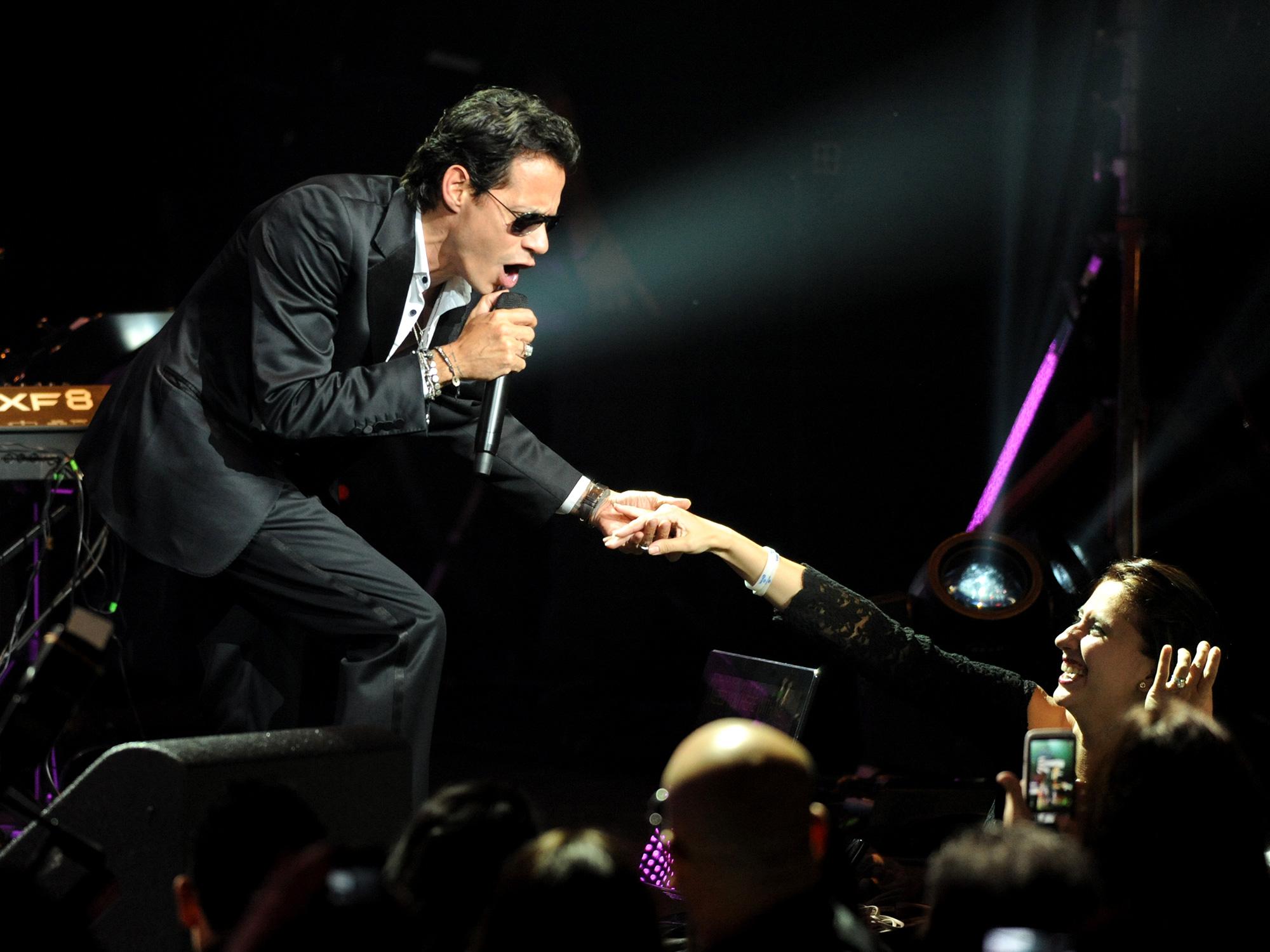 Marc Anthony celebrates El Grito in Las Vegas