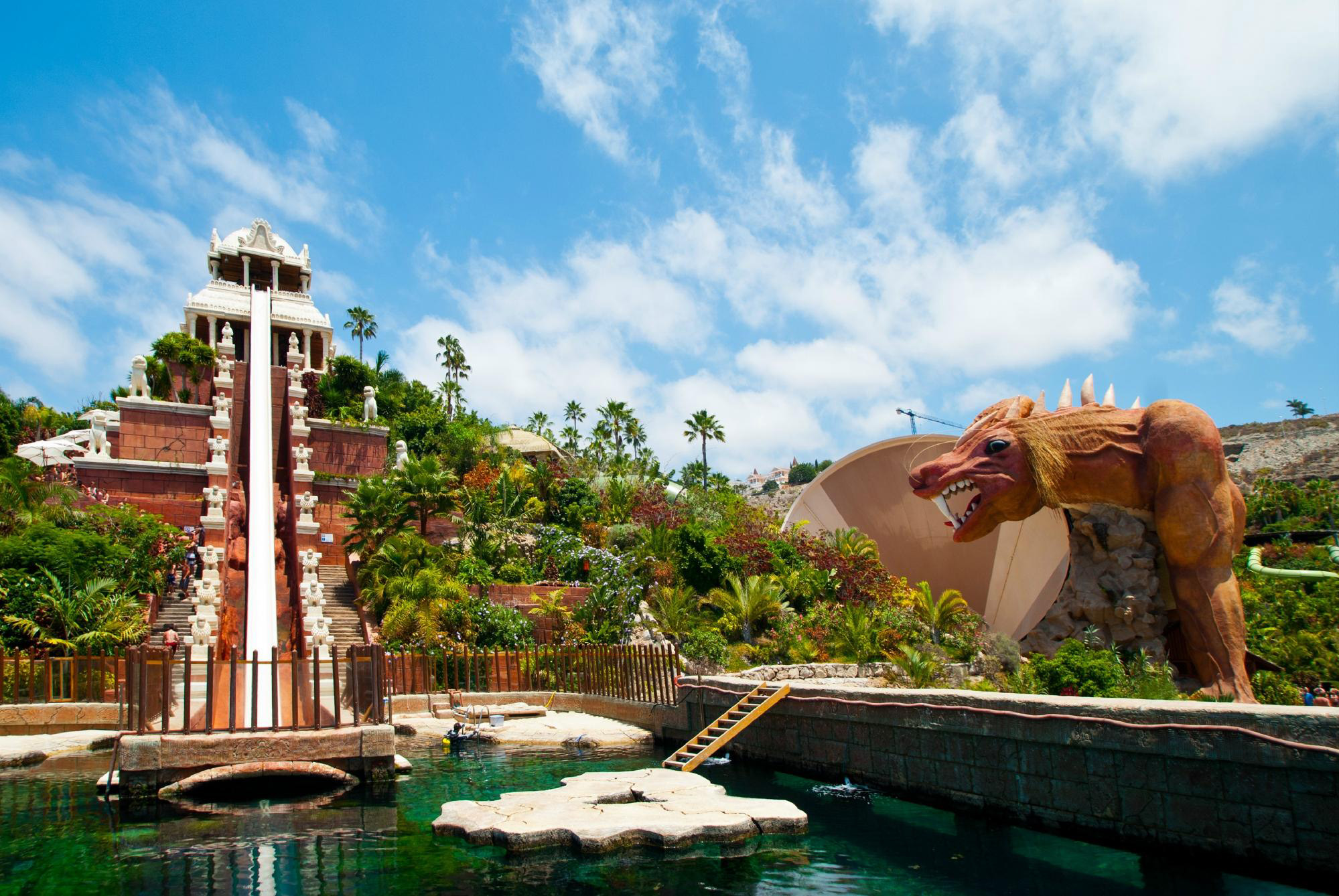 Siam Park in Adeje, Spain is the top water park in the world, according to the TripAdvisor Travelers' Choice Amusement Parks and Water Parks.