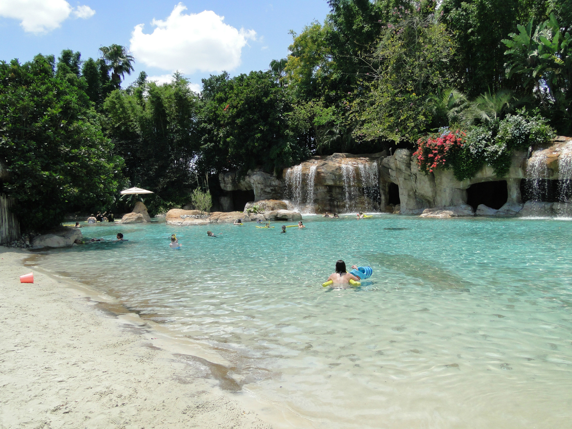 Discovery Cove in Orlando, FL  is the #1 amusement park in the U.S. and world, according to the TripAdvisor Travelers' Choice Amusement Parks and Water Parks.
