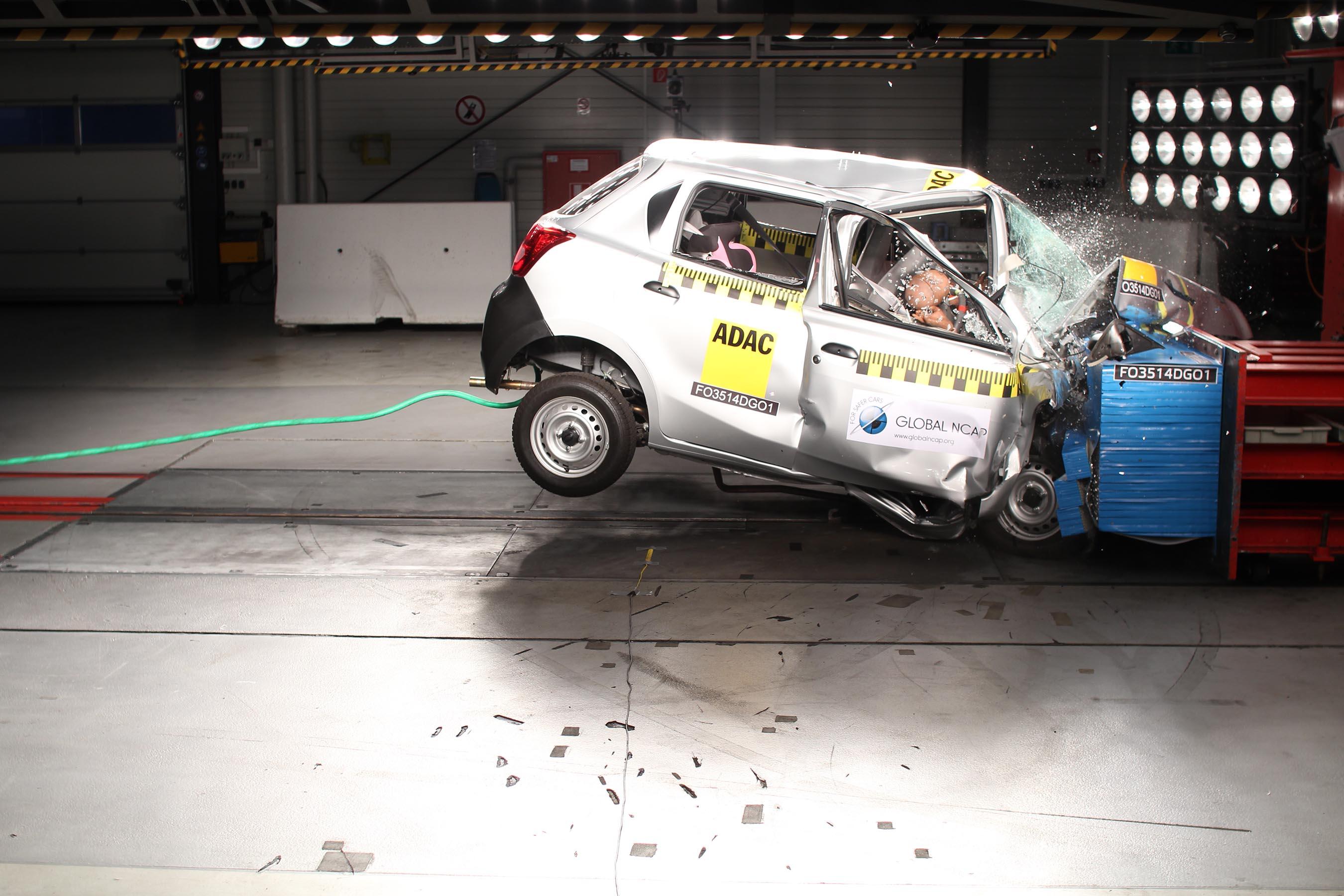 Global Ncap Calls For Urgent Withdrawal Of Datsun Go