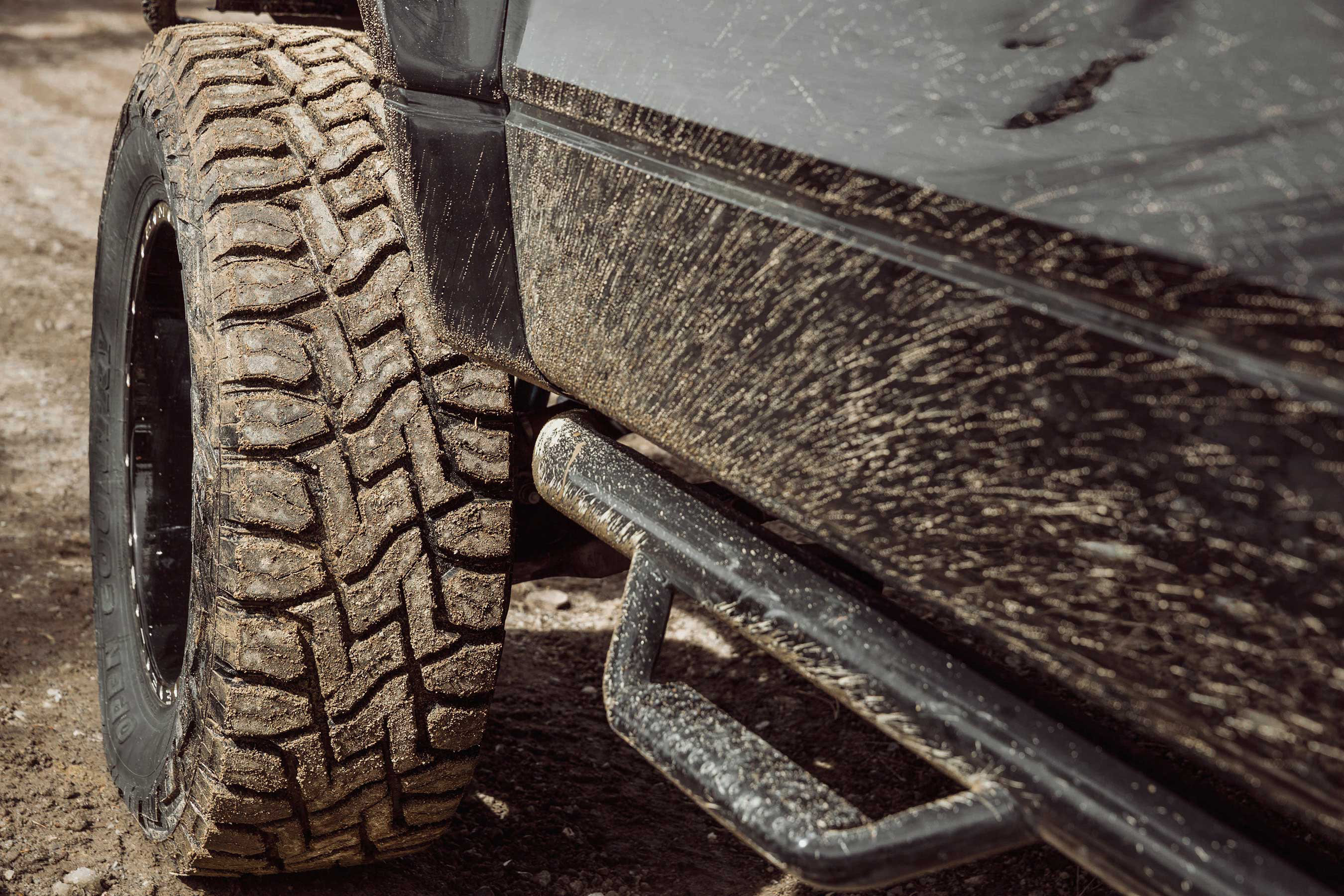 The new Toyo® Open Country® R/T by Toyo Tires® features excellent off-road traction, durable construction, and aggressive styling, with less on-road noise and a longer-lasting tread.