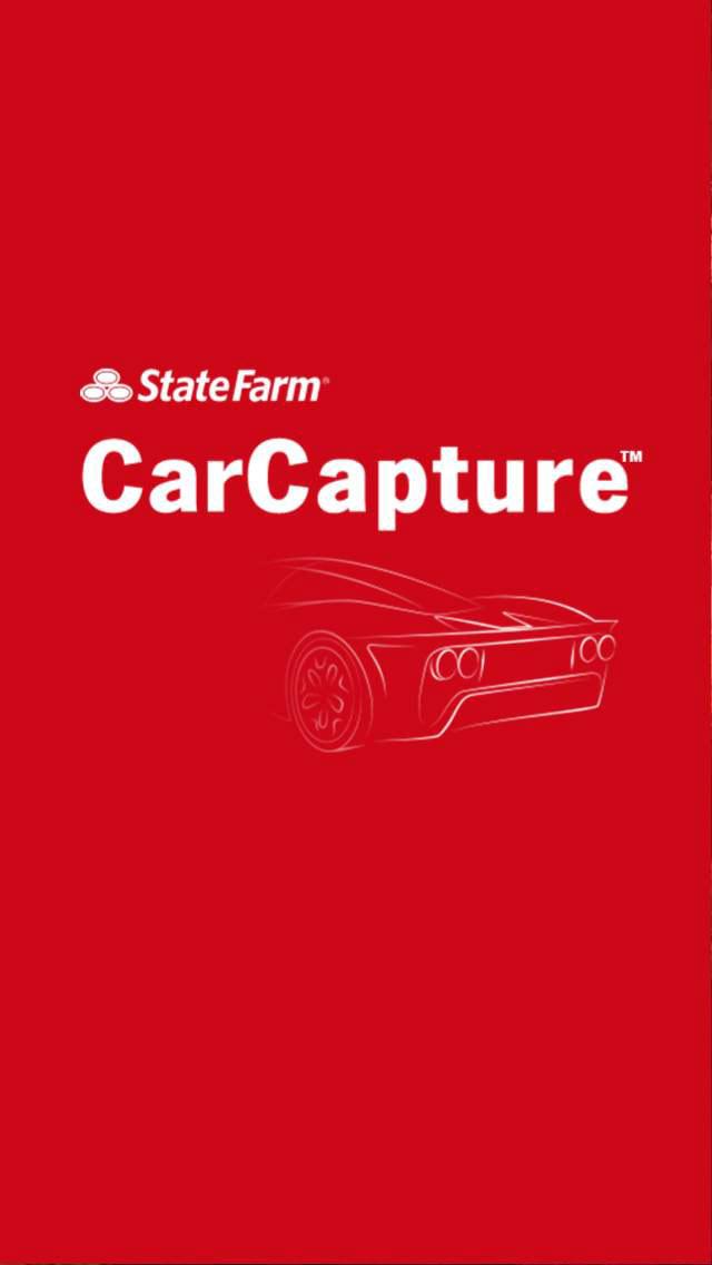 State Farm CarCapture start screen