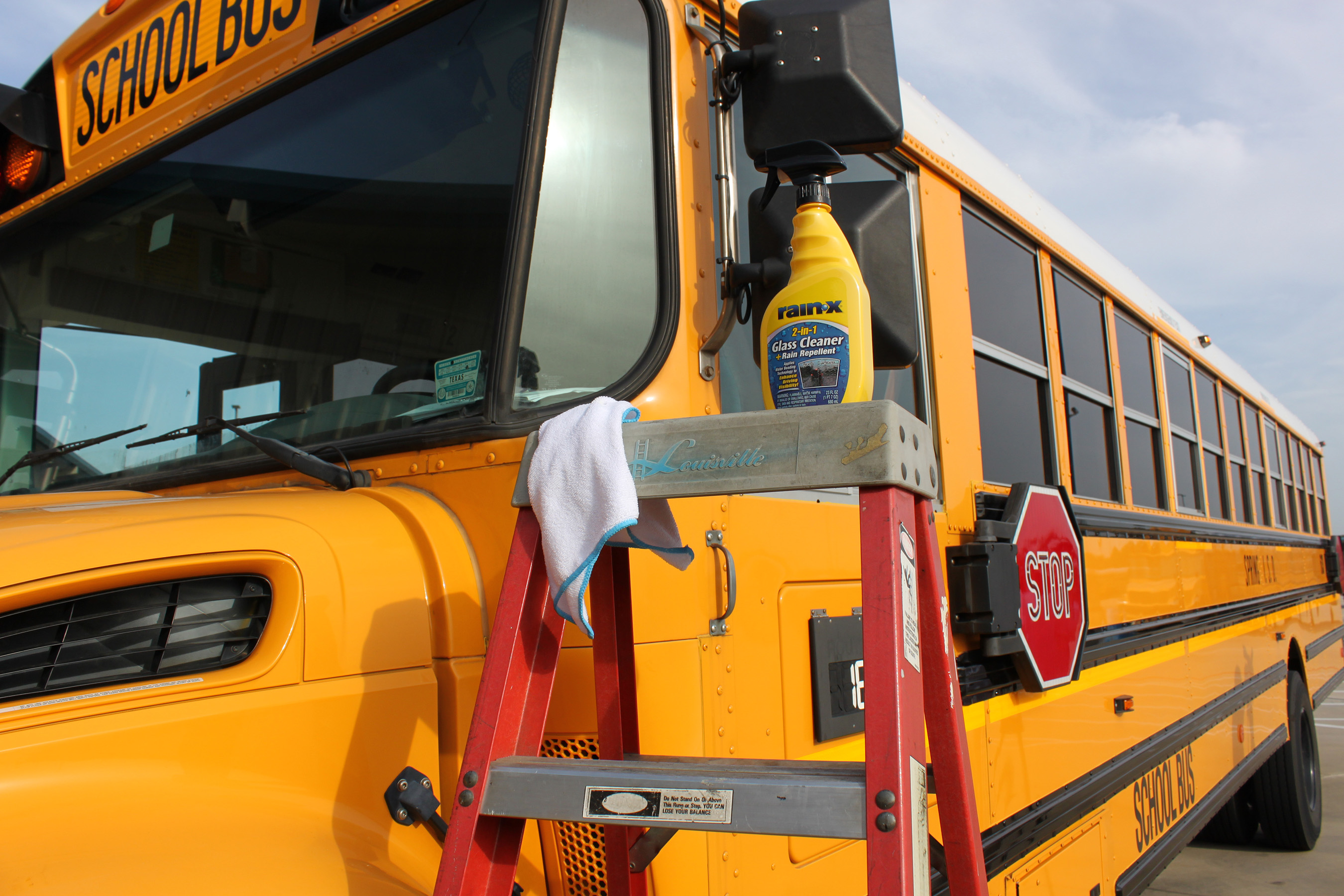 95 percent of parents would use or encourage the use of a water-repellent windshield product like Rain‑X(R) 2-in-1 Glass Cleaner with Rain Repellent on school buses and in carpools.