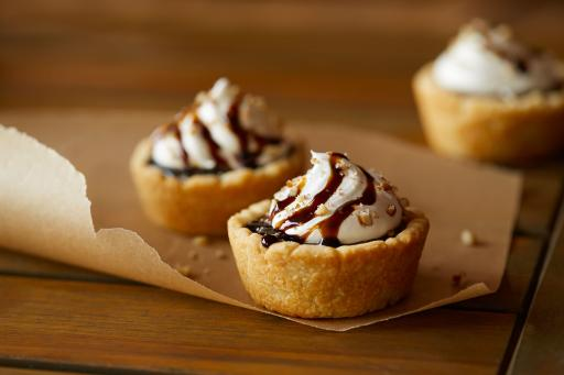 Mini Molasses Sweet Potato Pie Cups
