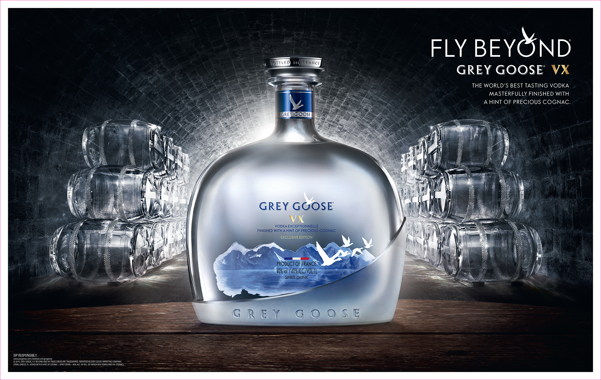 GREY GOOSE VX Ad Creative