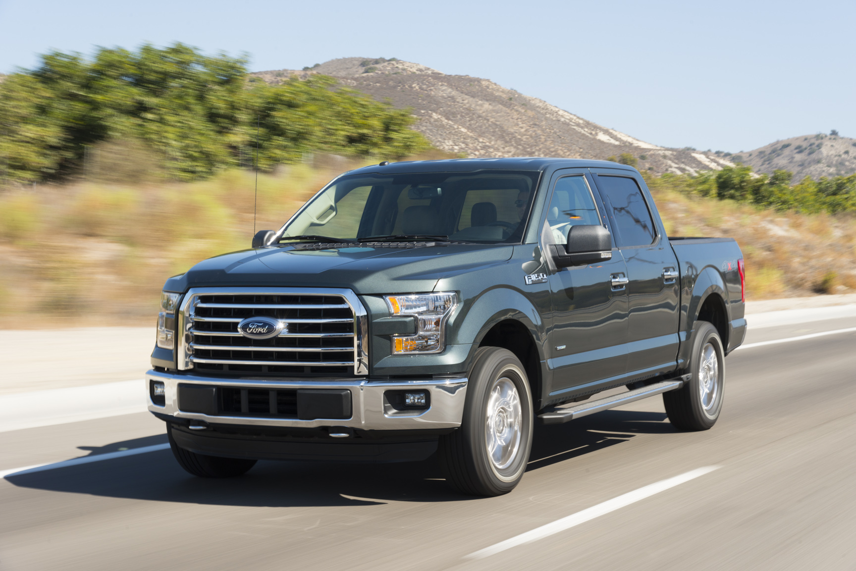 Overall Winner: 2015 Ford F-150: The Ford F-150 stands out for its breakthrough aluminum body, a weight-saving strategy that enables its turbocharged Ecoboost engines - another breakthrough - to be even more effective and impressive.