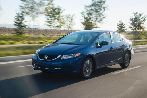 Small Car: 2015 Honda Civic