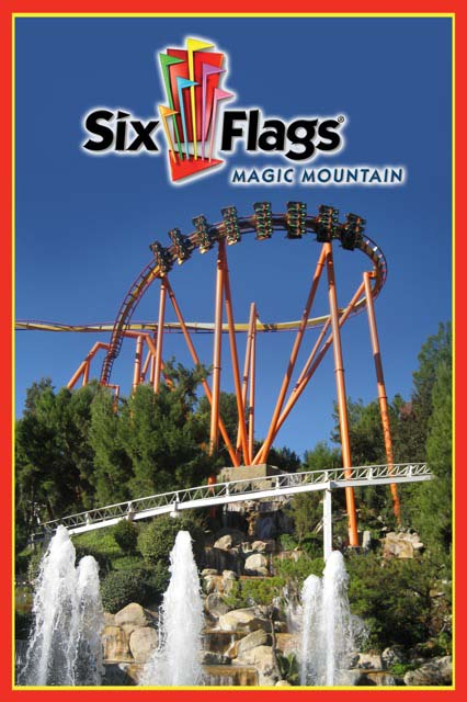 Six Flags Magic Mountain Named #1 Theme Park by USA TODAY.