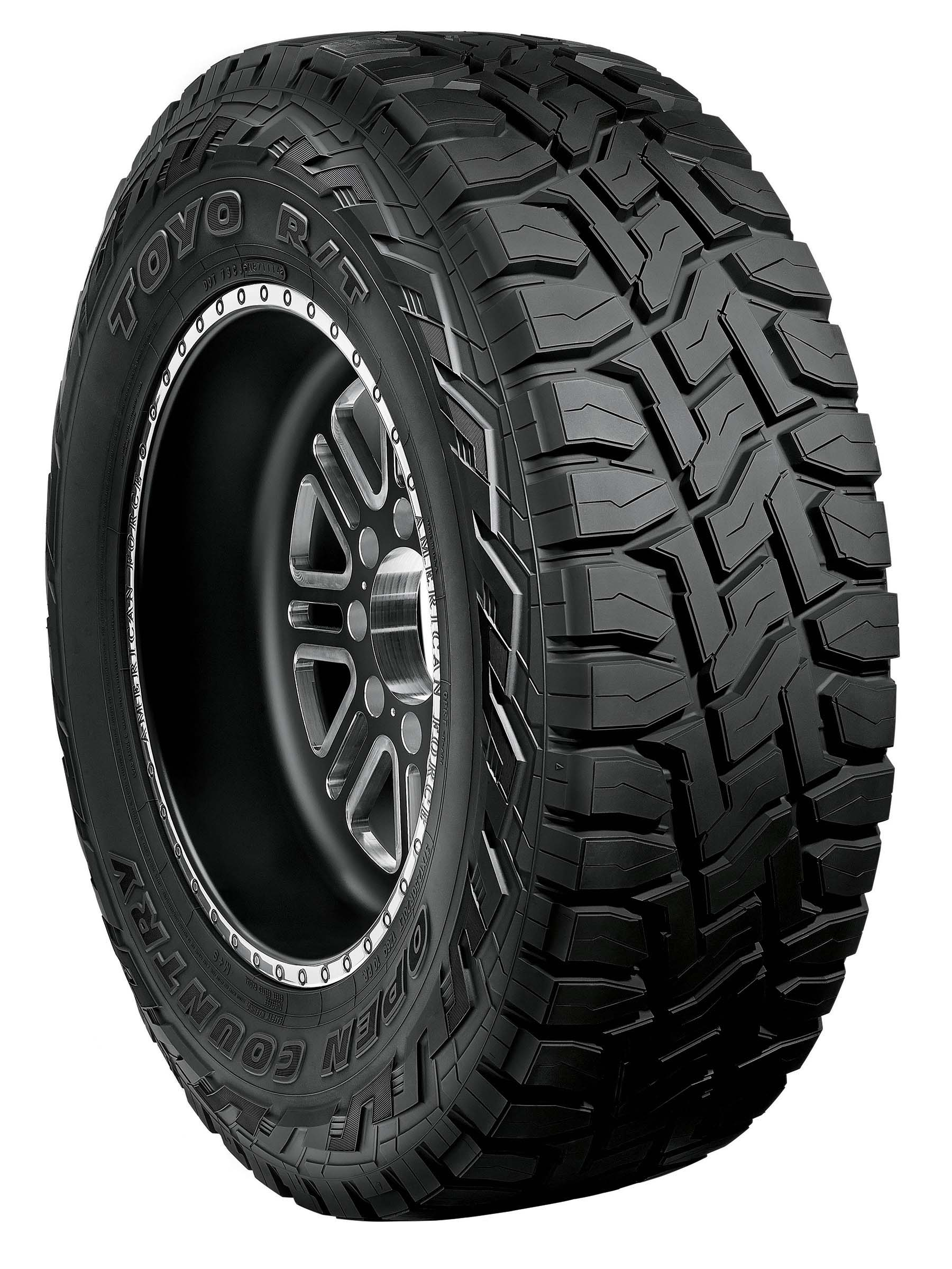 The new Toyo® Open Country® R/T by Toyo Tires® is built rugged for any terrain.