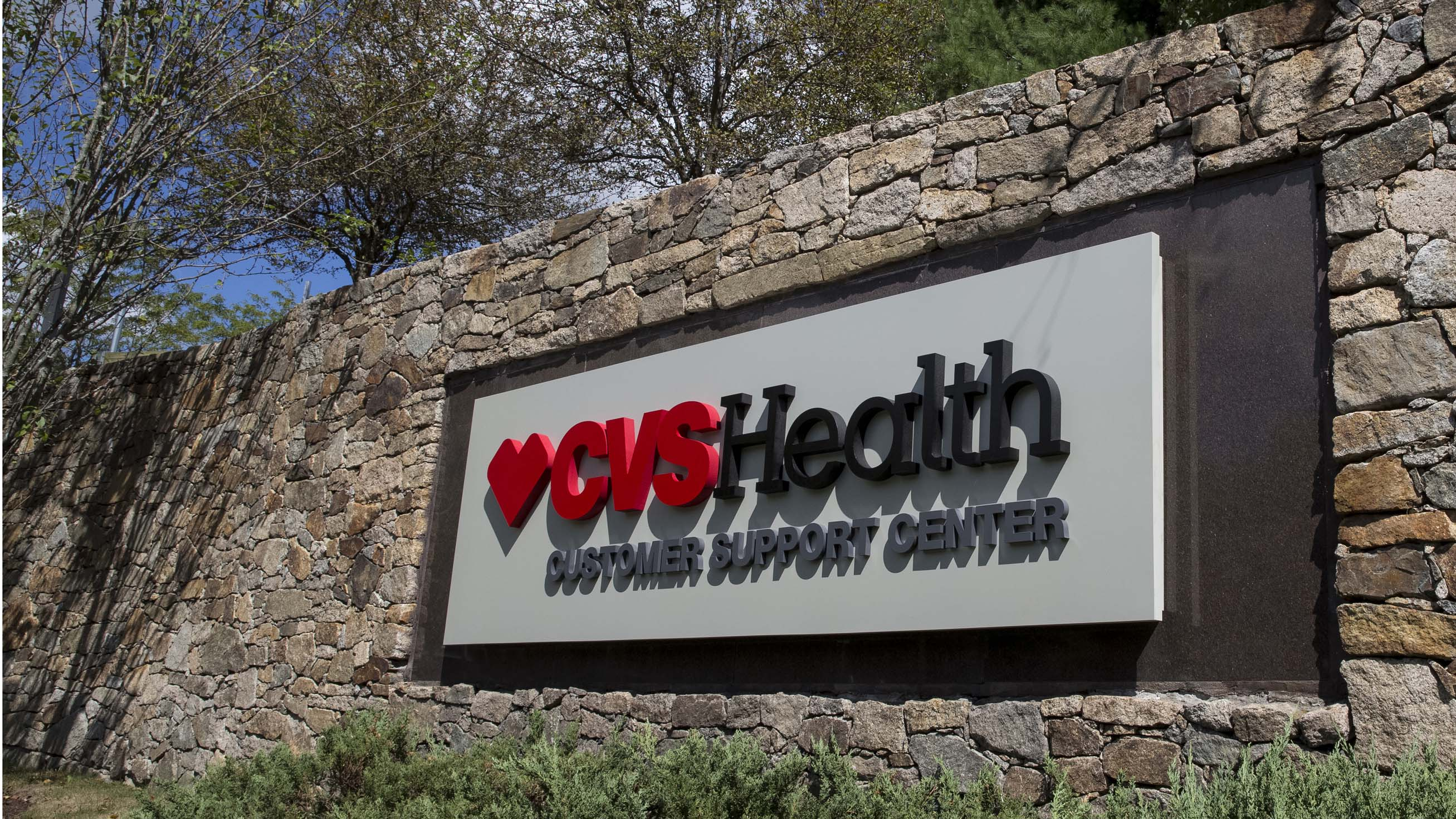 New Exterior Signage at CVS Health Corporate
