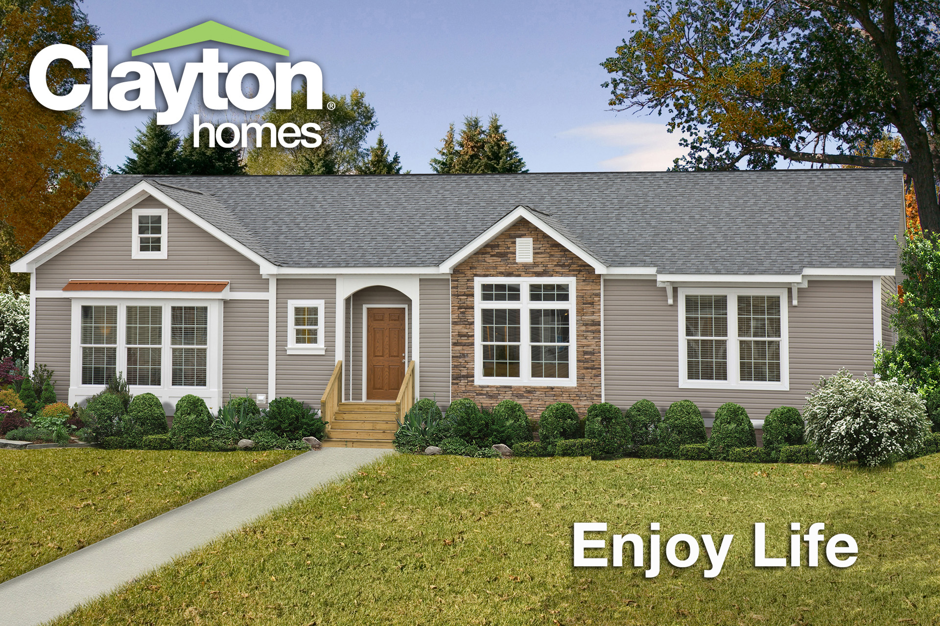 Clayton Homes Launches Enjoy Life Sweepstakes for Football Fans on oakwood homes, patriot homes, fleetwood homes, skyline homes, champion homes, palm harbor homes, nationwide homes, fuqua homes, liberty homes, commodore homes, adrian homes, all american homes,