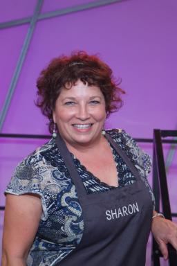 Contestant Sharon Damante on Food Network's All-Star Academy
