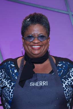 Contestant Sherri Williams on Food Network's All-Star Academy