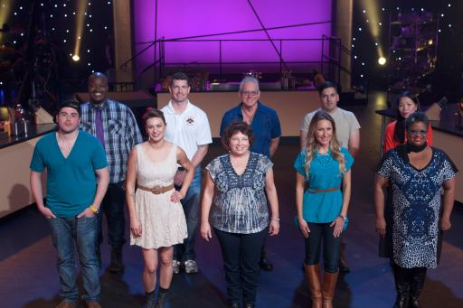 Contestants on Food Network's All-Star Academy
