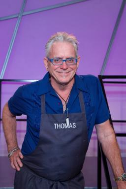 Contestant Thomas Mann on Food Network's All-Star Academy