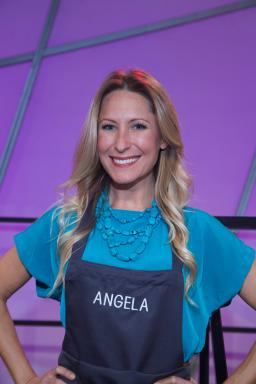 Contestant Angela George on Food Network's All-Star Academy