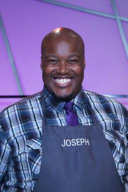 Contestant Joseph Harris on Food Network's All-Star Academy