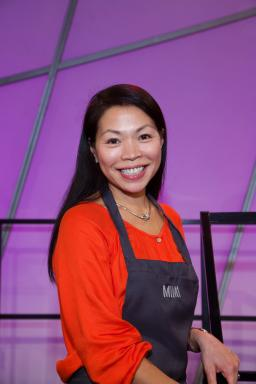 Contestant Mimi Chang on Food Network's All-Star Academy