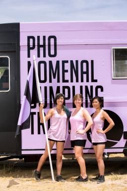 Team Pho-Nomenal Dumplings, Competitors on Season 6 of The Great Food Truck Race