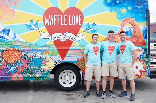 Team Waffle Love, Competitors on Season 6 of The Great Food Truck Race