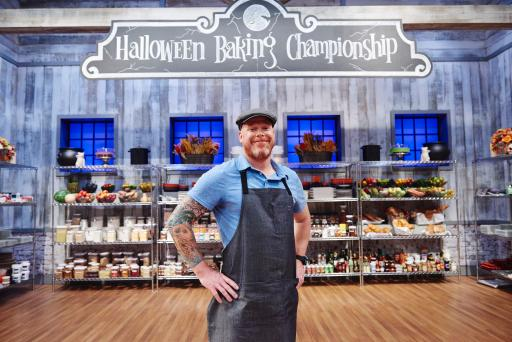 Contestant Scott Breazale on Food Network's Halloween Baking Championship