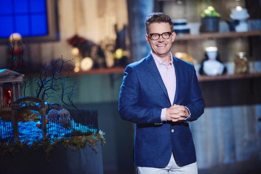 Host Richard Blais of Food Network's Halloween Baking Championship