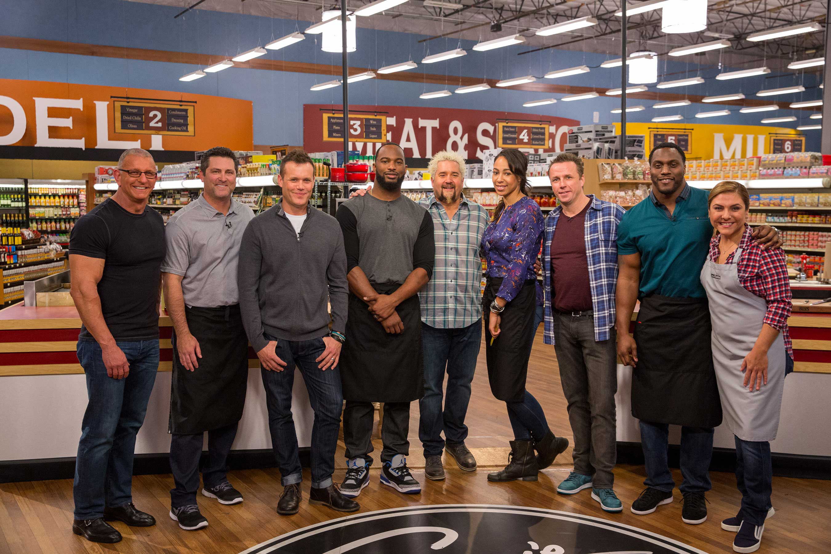 Food Network All Stars Take To The Aisles