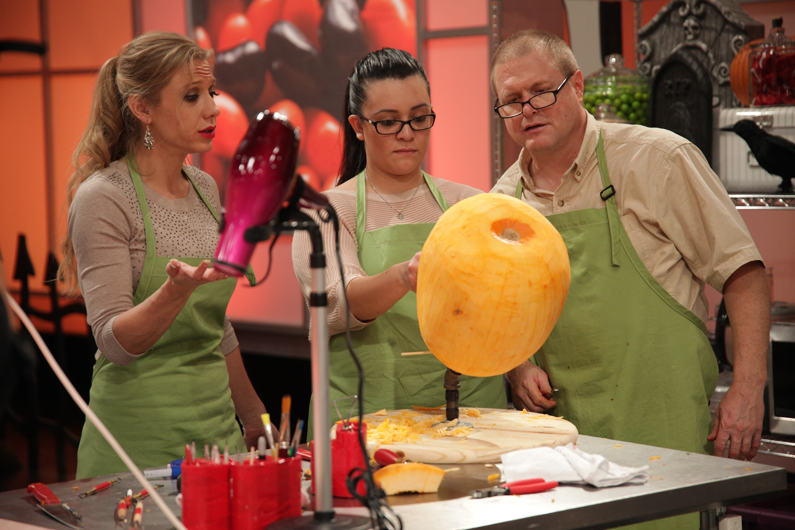 Food Network Halloween Wars Guest Judges